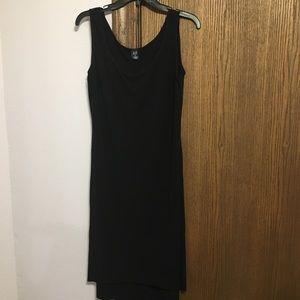 GAP XL black tank dress